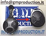 G.M. Production PPTXT116 key fob cover, compatible with Laserline PPTXT108 anti-theft car alarm