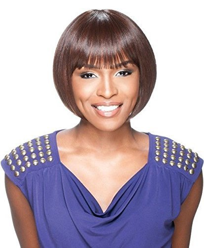 Sensationnel Instant Fashion Synthetic Wig AVA (1B) by Hair Zone
