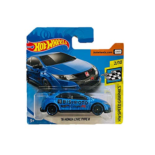 Hot Wheels '16 Honda Civic Type R HW Speed Graphics 245/365