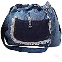 10f4037c2c182 Merryland Handmade Jeanstasche Upcycling Damen Handtasche Jeans Unikat  Einzelstück handgenähte Tasche Women Bag Handbag