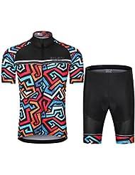 YHLU Herren /Ärmelloses Radfahren Jersey Quick-Dry Mountain Fahrrad Radfahren Kleidung Sommer Racing Bike Wear