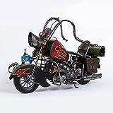 Kaige Tischdekoration Retro-alte Ritter Motorradmodell