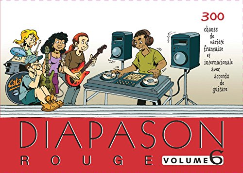 Diapason rouge - Volume 6 par Collectif
