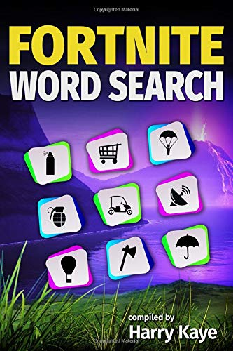 Fortnite Word Search: Battle Royale, Locations, Skins, Emotes, Bling and much more! por Harry Kaye
