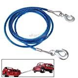 5 Tons Steel Vehicle Towing Cable Rope, ...