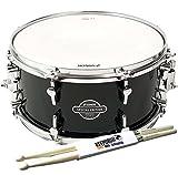 Sonor SSE13 1407 SDW CESF Transparent Stain Black Snare-Drum + KEEPDRUM Drumsticks
