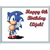 """Single Source Party Supply - Sonic Edible Icing Image #4-10.5"""" x 16.5"""" by Single Source Party Supplies"""