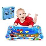 Materassino gonfiabile per bambini, Tummy Time Tappetino per l'acqua per neonati Attività di gioco divertente - Tappetino da gioco impermeabile BPA-Free per la crescita della stimolazione del bambino