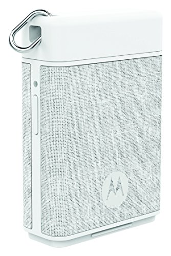 Motorola P1500 Power Pack Micro 1500mAH Portable Battery for Smartphones with Motorola Key Link to Find Phones/Keys (White)