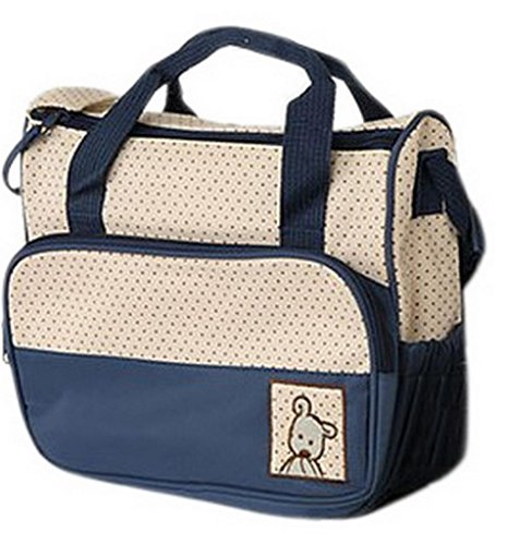 EOZY Multifonction Set de Sac � Langer Baby Diaper Bag Sac de B�b� pour Maman Voyage Style Ours (B)