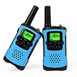 Walkie Talkies, Kids Walkie Talkies and Long Range Two-Way Radio for Kids Toys (Blue) image