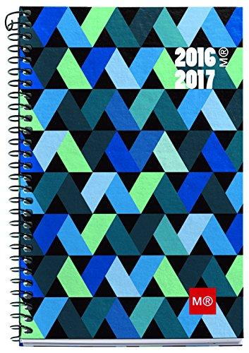miquelrius-27093-agenda-scolaire-117-x-174-motif-origami-1-jour-par-page