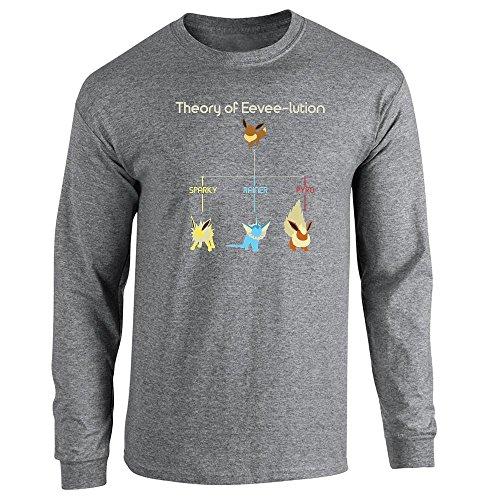 Pop Threads Herren T-Shirt Graphite Heather