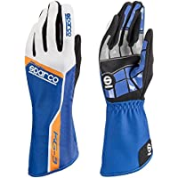 Sparco 00255309AZAF Handschuhe, Spur 3 kg, Größe 09, Blau/Orange