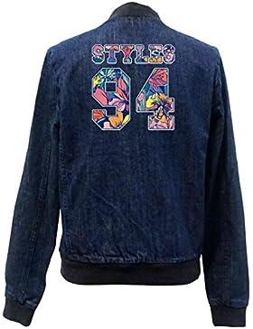Styles 24 Flowers Bomber Chaqueta Girls Jeans Certified Freak
