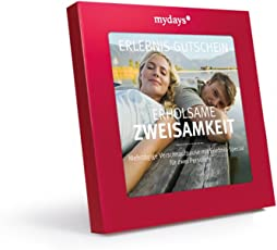 mydays Hotel-Gutschein   ERHOLSAME ZWEISAMKEIT   4 Übernachtungen für 2 Personen   über 110 Hotels   Inklusive Geschenkbox