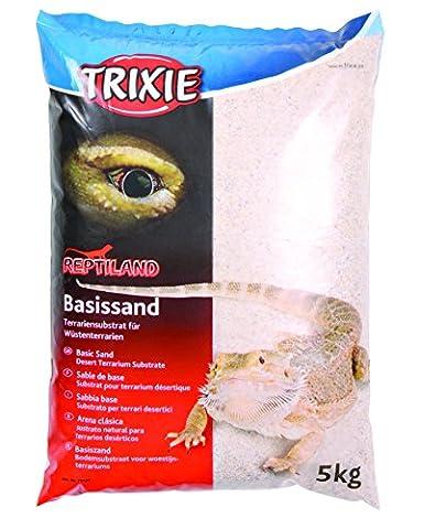 Basic Sand (White) - terrarium substrate for desert terrariums - 5kg Bag