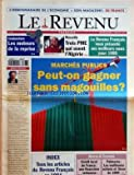 Telecharger Livres REVENU FRANCAIS LE No 327 du 06 01 1995 MARCHES PUBLICS PEUT ON GAGNER SANS MAGOUILLES BOURSE ET FINANCES LES MOTEURS DE LA REPRISE MARSEILLE 3 PME QUI OSENT L ALGERIE B TOBAL (PDF,EPUB,MOBI) gratuits en Francaise