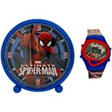 Ultimate Spider-Man Bedside Alarm Clock & Digital Watch Gift Set MV10042