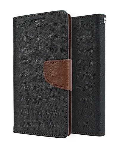 ACASE Premium Fancy Wallet Diary with Card Slots [POCKETS] , Stand View and Magnetic Strap [LOCKING] Faux Leather Flip Stand Back Case Cover for Samsung Galaxy S3 I9300 -Brown  available at amazon for Rs.245