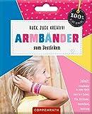 Ruck, zuck kreativ! Armbänder zum Besticken: Armbänder in Leder-Optik - pink (100% selbst gemacht)