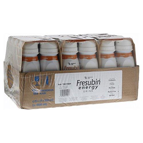Fresubin energy DRINK Erdbeere, 200 ml - Trinknahrung - 24 EasyDrinks