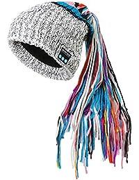 cba1269f06e2 Amazon.fr   Bonnet Blanc Femme - Packs bonnet, écharpe et gants ...
