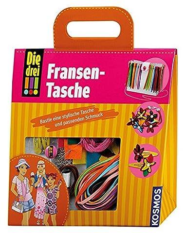 KOSMOS 635053 - Die drei !!! Fransen-Tasche (Acht Knoten-knopf)