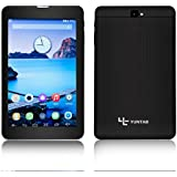 Yuntab 7 inch 3G unloacked smart Phone call tablet pc Android 4.4.2 Google tablet SPEADTRUM 7731 1.2GHz Quad Core 800*1280 IPS HD resolution Capacitive touch screen phtablet with dual camera support GPS and bluethooth Black