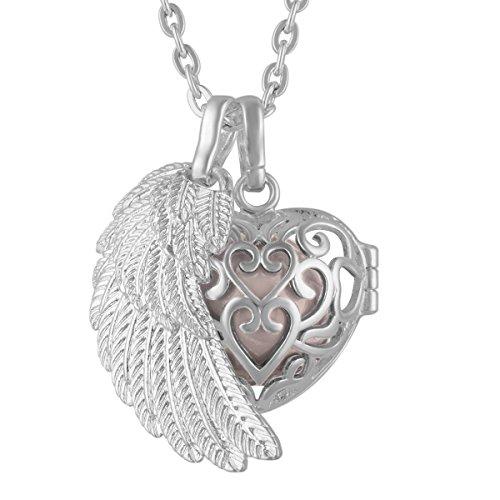Halskette Anhänger Pendants Sterling Silber Engel Flügel ()
