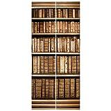 Vliestapete Tür–Altes Archiv–Tür Wand Wandbild, Dimension HxB: 215x 96–0,00