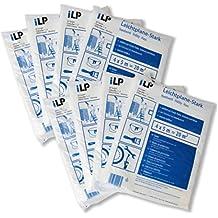 ILP Lot de 8Bâche multi-usages-Film facile Bâche indéchirable–Plus 4x 5m–Qualité LDPE Protection–Contre la saleté couleur l'humidité–fiables Cache les travaux de peintre et réparation