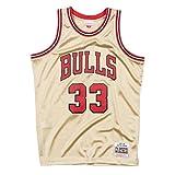 Mitchell & Ness Swingman Jersey Chicago Bulls Scottie Pippen 33 Gold XL