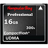 Komputerbay 16GB High Speed ​​Compact Flash CF 300X Ultra High Speed ​​Card 10MB/s Schreiben und 52MB/s Lesen