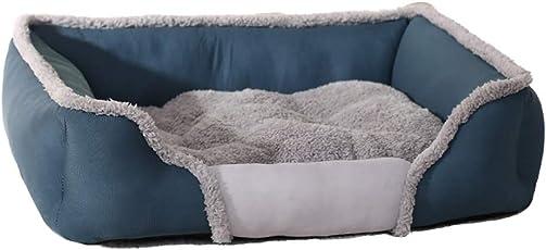3CLifewaren Hundebett Hundeschlafplatz mit Abnehmbarem Bezug Warm Winter Hundekissen Haustierbett für Katzen und Hunde
