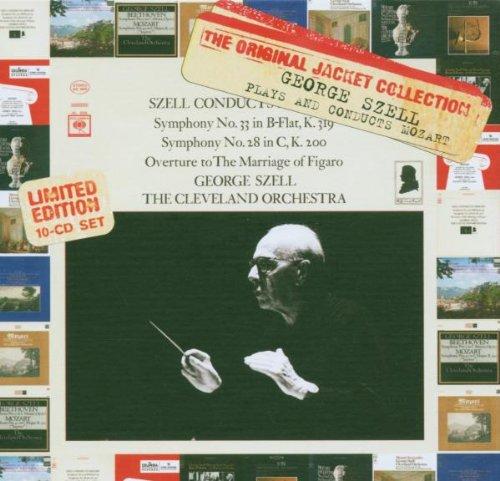 George Szell joue et dirige Mozart (Coffret 10CD)