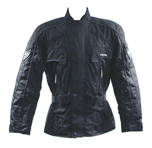 Rufino giacca moto tessile pantaloni da uomo in tessuto equitazione