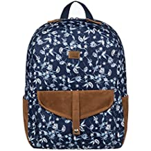 Roxy Carribean Mochila Escolar, 40 cm, Dress Blues Pattern 4 Rosa