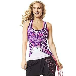 Zumba Fitness Damen Wt Dynamic Racerback, Galaxy, Z1T01089-M-GLXY