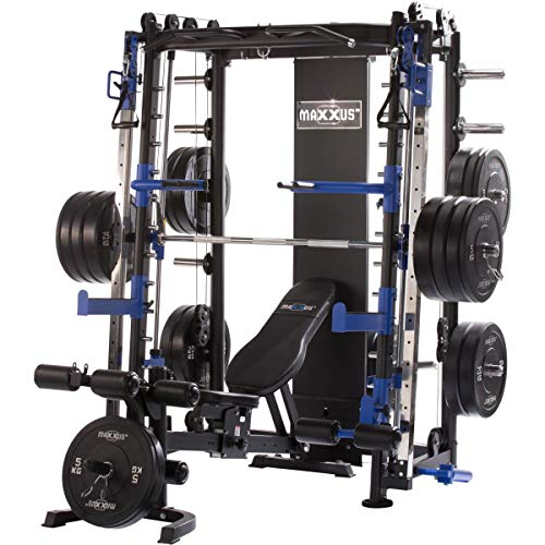 Maxxus 10.1 stazione fitness multifunzione professionale - palestra completa da casa con attrezzi e senza pesi