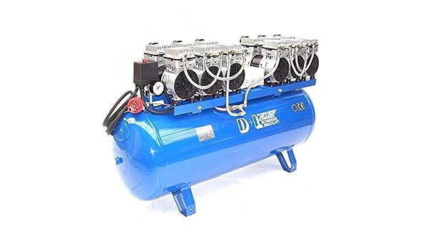 Druckluft Kompressor Silent Leise V12 540 8 150w Ölfrei Flüster Kompressor 6ps Awz Baumarkt