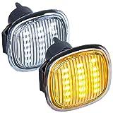 phil trade LED SEITENBLINKER klarglas kompatibel für Audi A3 8L, A4 B5, A8 D2 | SEAT Ibiza 6K [7317]