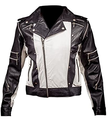 F&H Boy's Michael Jackson 1984 Pepsi Ad Commercial Jacket L White