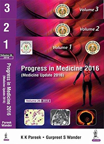 Medicine Update 2016(Progress In Medicine 2016) (3Vols)