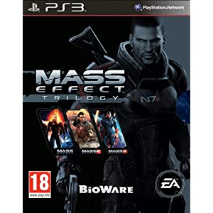 NEW & SEALED! Mass Effect Trilogy Sony Playstation 3 PS3 Game UK PAL