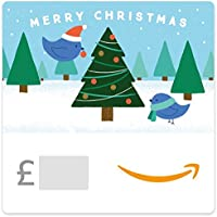 Christmas Tree Birds -  Amazon.co.uk eGift Voucher