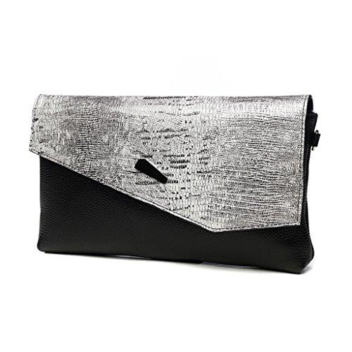 TaoMi Homw- Handbag Girl New Fashion Wild Temperament Sac à main Femelle Sac de banquet à grande capacité Baguette d'embrayage / avec sangle d'épaule, bracelet