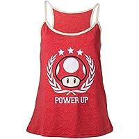 Nintendo - Power Up (Top Donna Tg. L)