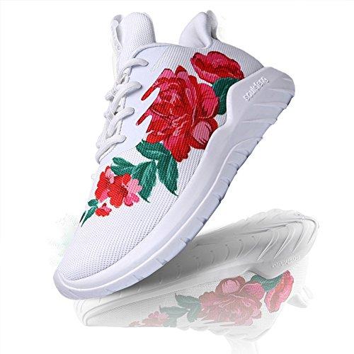 Soulsfeng Zapatos Deportivos Zapatillas Zapatos de Hombres para Mujer Calzado Deportivo Zapatos Planos Zapatos Con Cordones(gris 44EU) n11u4KZIPY