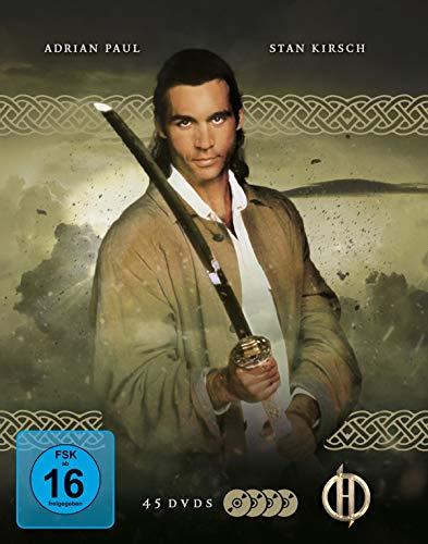 Highlander - Gesamtedition [Die komplette Serie mit 45 DVDs, Booklet und Schuber]